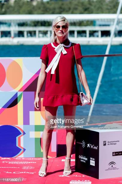 Amaia Salamanca attends '¿Que Te Juegas' photocall during the 22nd Malaga Film Festival on March 21 2019 in Malaga Spain