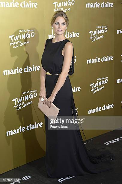Amaia Salamanca attends the 2015 Marie Claire Prix de la Mode at Callao Cinema on November 19, 2015 in Madrid, Spain.