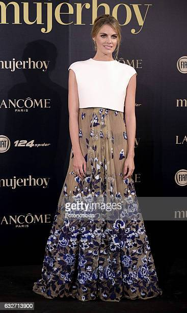 Amaia Salamanca attends the 2016 'Mujer Hoy' awards ceremony at the Casino de Madrid on January 25 2017 in Madrid Spain