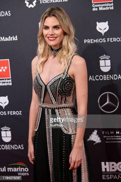 Amaia Salamanca attends the 'FEROZ' awards 2020 Red Carpet photocall at Teatro Auditorio Ciudad de Alcobendas in Madrid Spain on Jan 16 2020