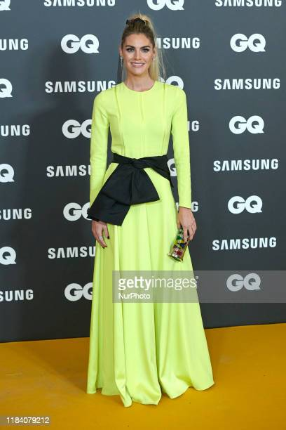 Amaia Salamanca attends the GQ Men Of The Year Awards 2019 photocall at The Westin Palace Hotel in Madrid Spain on Nov 21 2019