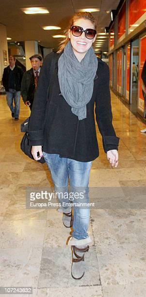 Amaia Salamanca is seen on December 2 2010 in Madrid Spain