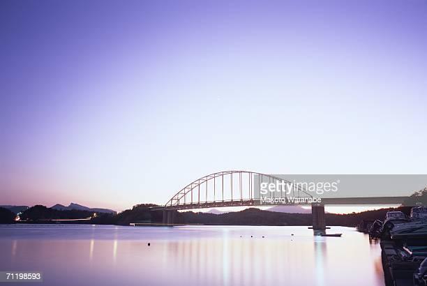 amakusa five bridges, kumamoto prefecture, japan - kumamoto prefecture stock pictures, royalty-free photos & images