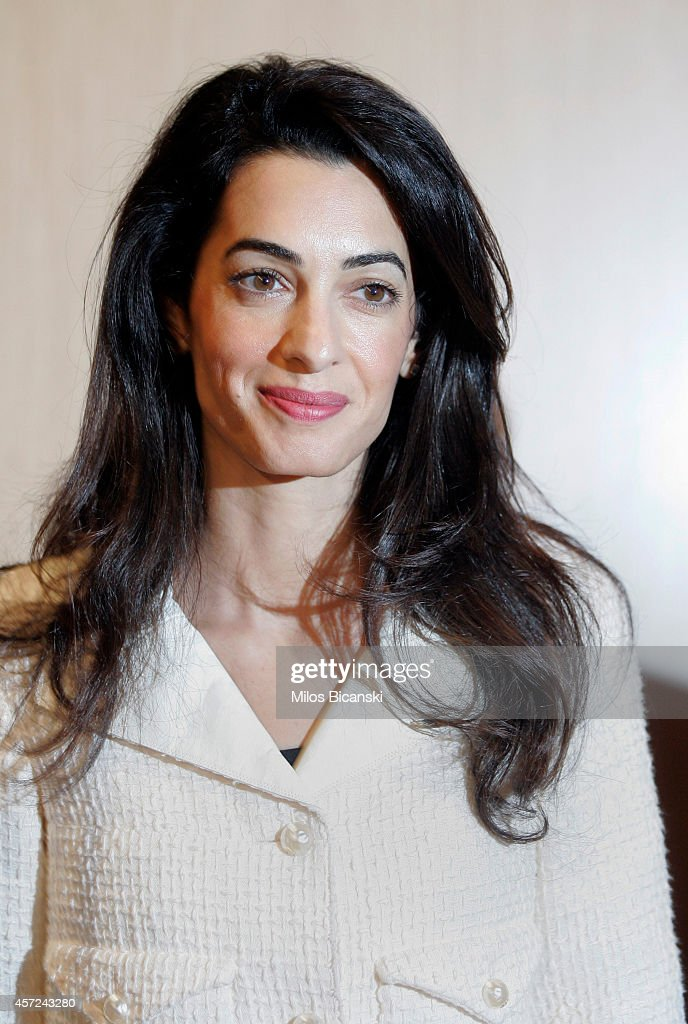 Amal Alamuddin Clooney Advises On Return Of Parthenon Marbles : News Photo