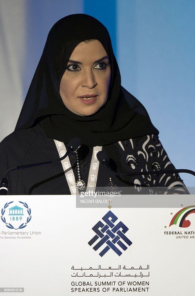 UAE-WOMEN-POLITICS : Nachrichtenfoto