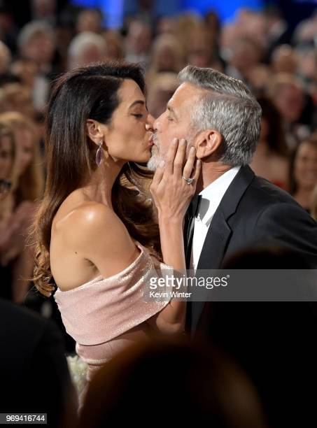 Amal Clooney and 46th AFI Life Achievement Award Recipient George Clooney attend the American Film Institute's 46th Life Achievement Award Gala...