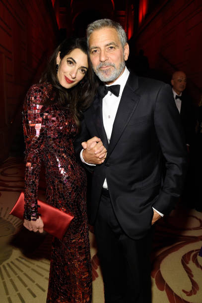 NY: George & Amal Clooney Donate Over $1 Million to Various Organizations in Coronavirus Fight