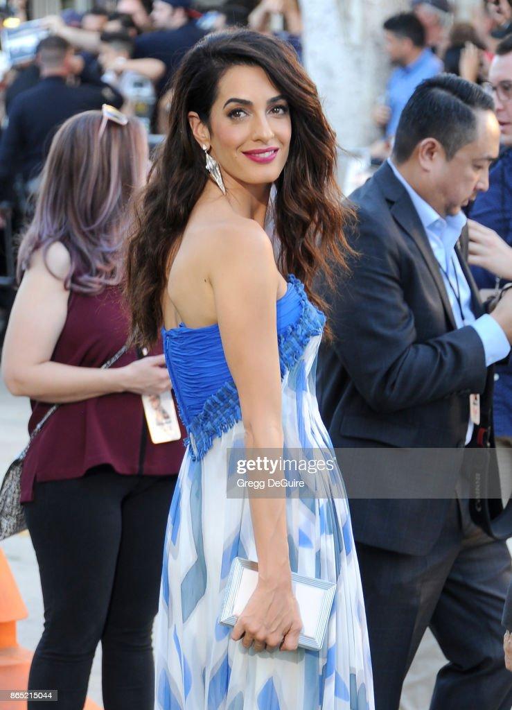 Premiere Of Paramount Pictures' 'Suburbicon' - Arrivals : News Photo