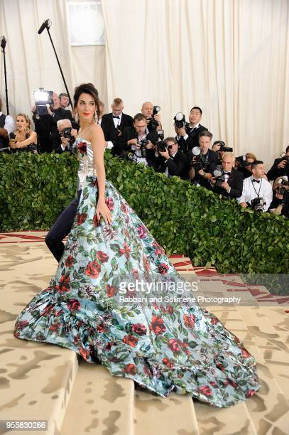 Amal Clooney attends Heavenly Bodies Fashion The Catholic Imagination Costume Institute Gala a the Metropolitan Museum of Art in New York City