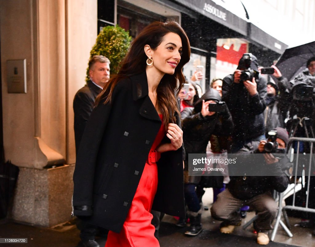 Celebrity Sightings in New York City - February 20, 2019 : News Photo
