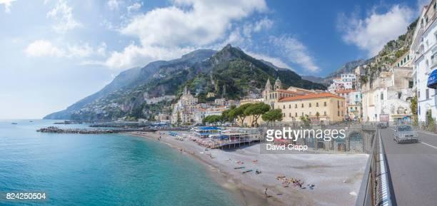Amalfi beach, The Amalfi Coast, Italy