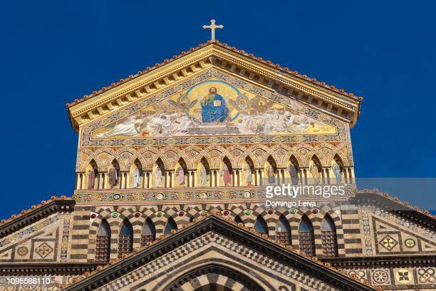 amalfi cathedral - sorrento italy stock pictures, royalty-free photos & images