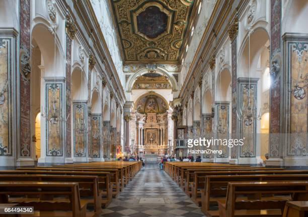 amalfi cathedral - cattedrale foto e immagini stock