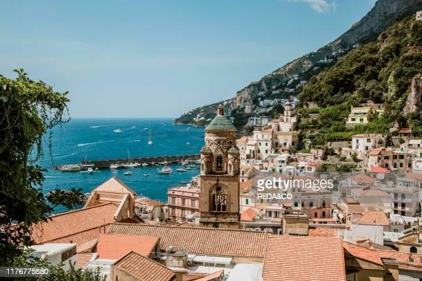 Amalfi cityscape Amalfi Coast Campania Italy Europe