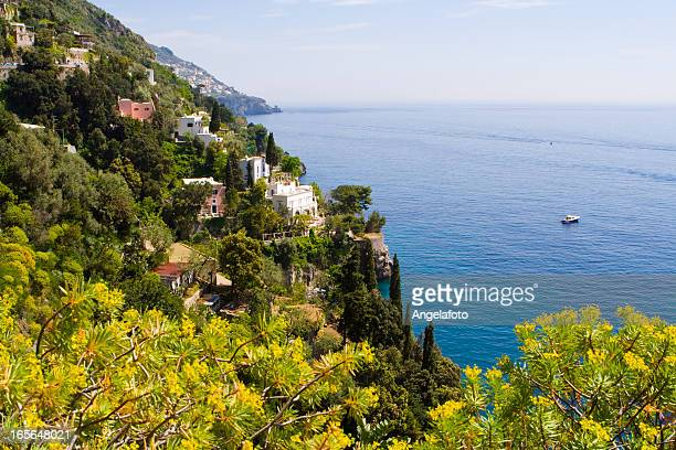 アマルフィ海岸から gods'コース」、「Positano 街です。