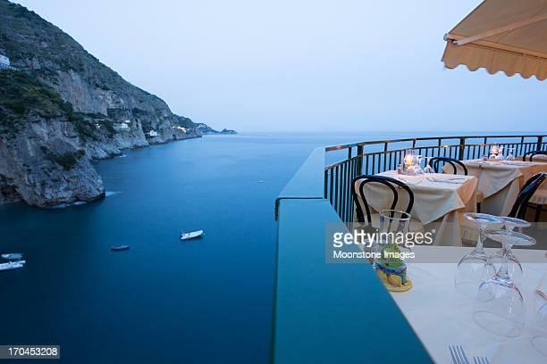 amalfi coast in campania, italy - amalfi coast stock photos and pictures