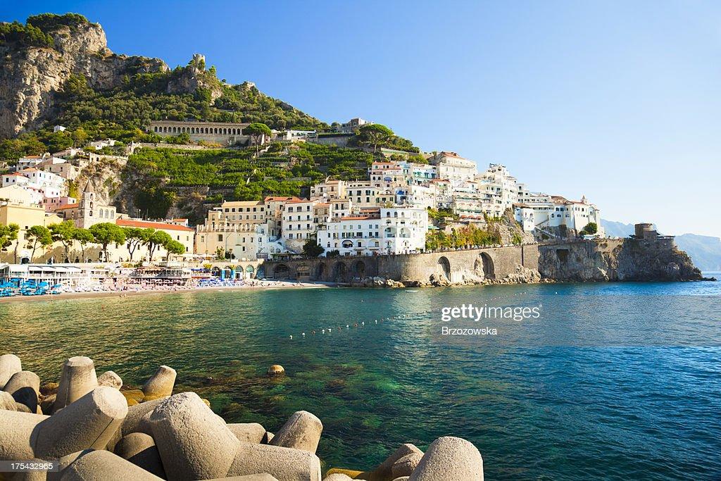Küste von Amalfi, Italien : Stock-Foto