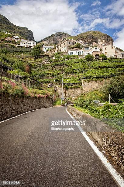 Amalfi Küste von Italien