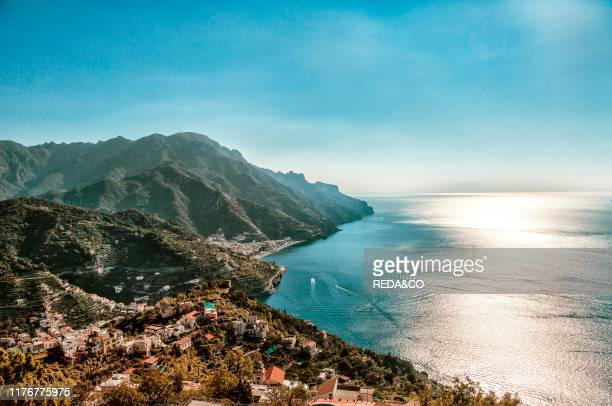 Amalfi Coast view from Ravello Campania Italy Europe