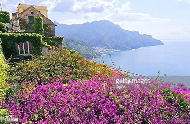 Vue sur la côte d'Amalfi