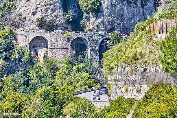 Amalfi Coastal roadway