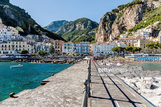 Amalfi - view from the pier