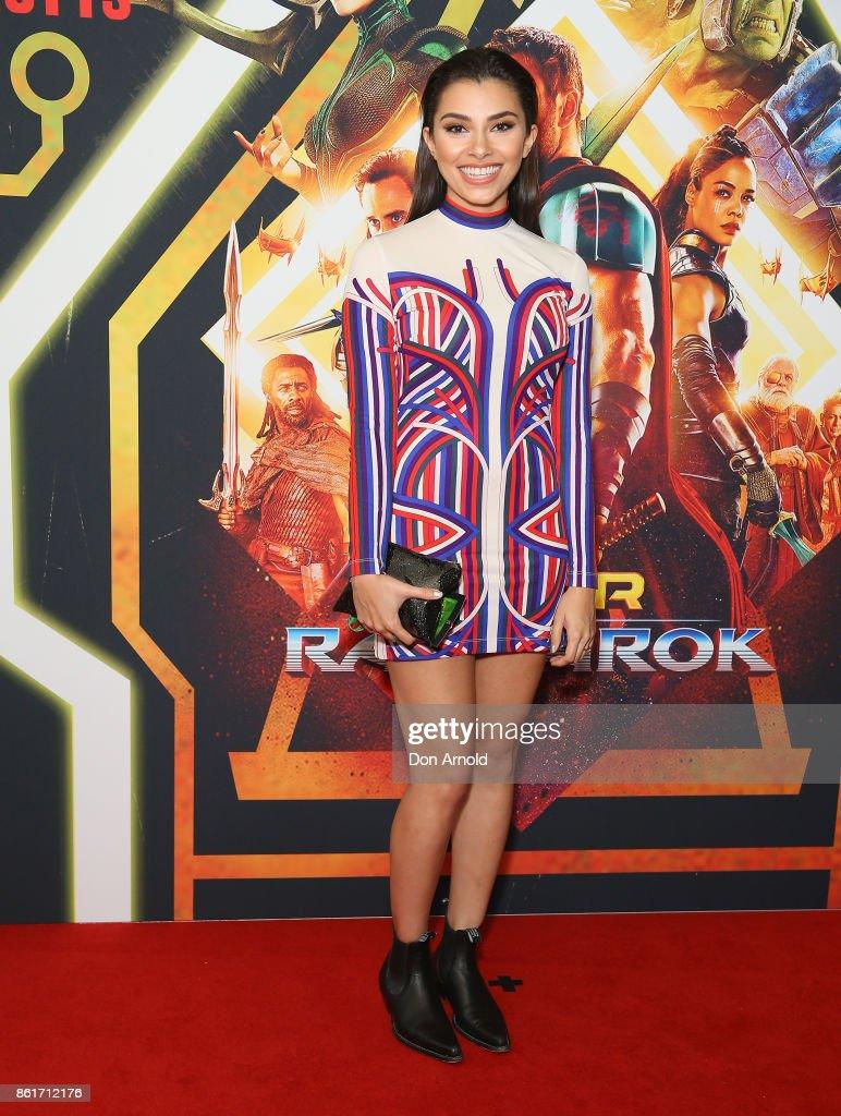 Thor: Ragnarok Sydney Screening - Arrivals : News Photo
