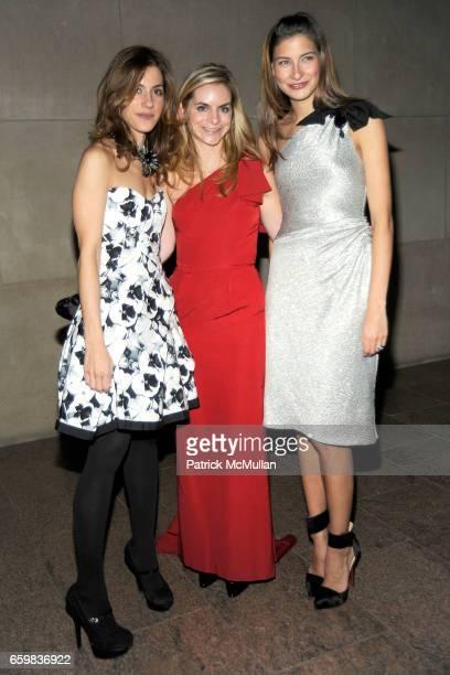 Amalia Keramitsis Megan Hayes and Sylvana SotoWard attend Apollo Circle Benefit 2009 Sponsored by Carolina Herrera at The Metropolitan Museum of Art...