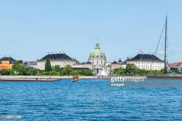 amalie garden, copenhagen, denmark - amalienborg palace stock pictures, royalty-free photos & images