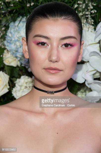 Amalie Gassmann attends the 16th Sidaction as part of Paris Fashion Week on January 25 2018 in Paris France