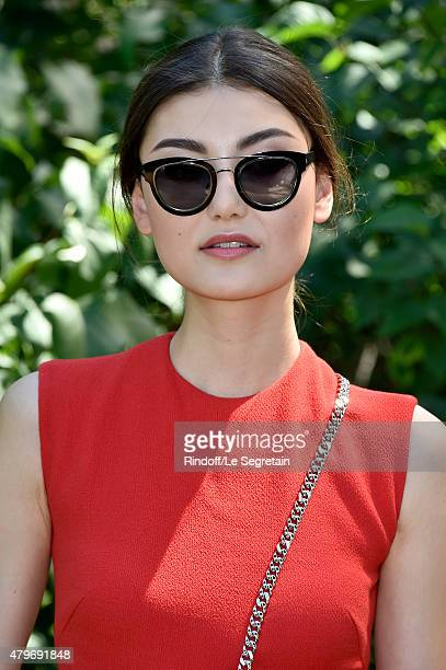 Amalie Gassmann attends the Christian Dior show as part of Paris Fashion Week Haute Couture Fall/Winter 2015/2016 on July 6 2015 in Paris France