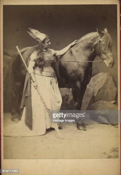 Amalie Materna as Brünnhilde in Opera Der Ring des Nibelungen by R Wagner 1876 Private Collection