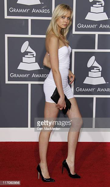 Amalie Wichmann arrives at the 52nd Annual GRAMMY Awards held at Staples Center on January 31 2010 in Los Angeles California