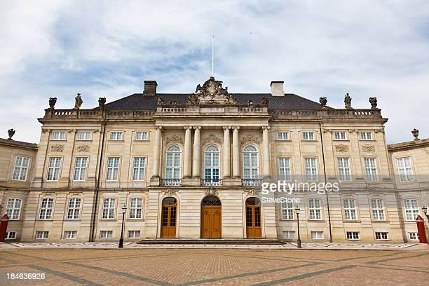 amalienborg palace copenhagen denmark - amalienborg palace stock pictures, royalty-free photos & images