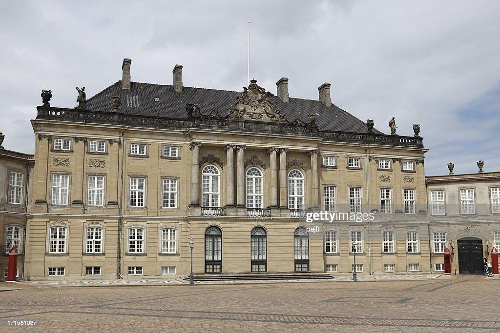 Amalienborg Palace : Stock Photo