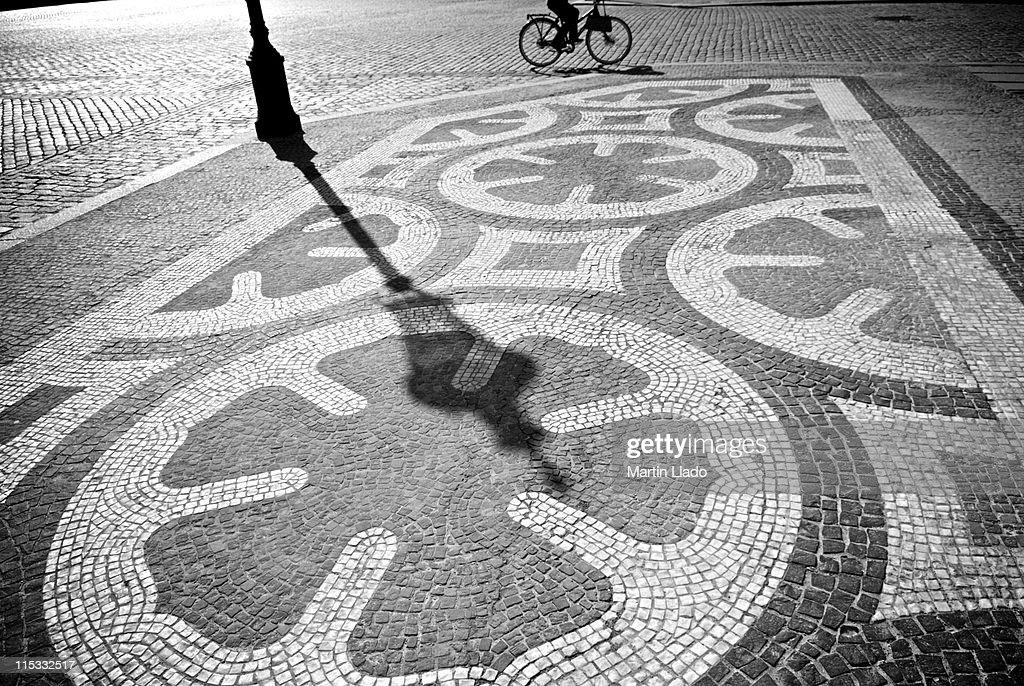 Amalienborg Palace Square : Foto de stock