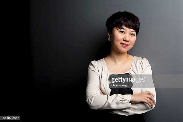 Amalisia Zhang chief executive officer of 99 Wuxian Ltd poses for a photograph after a Bloomberg Television interview in Hong Kong China on Tuesday...