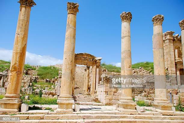 Aman ancient roman ruins