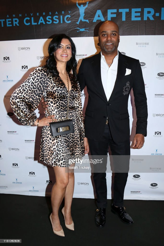 Aman Shan And Alex Shan Attend The 10th Annual Joe Carter Classic News Photo Getty Images