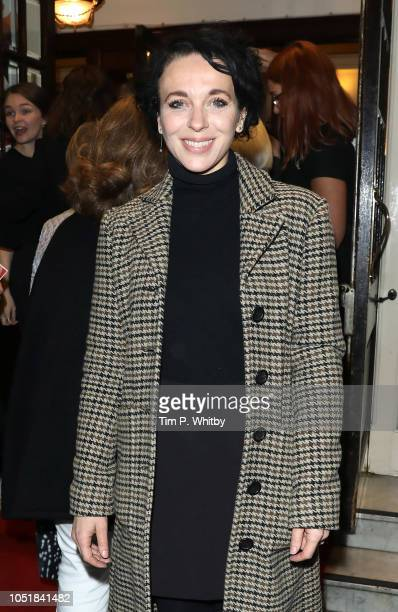 Amanda Abbingdon attends the gala performance of 'Happy Birthday Harold' at Harold Pinter Theatre on October 10 2018 in London England