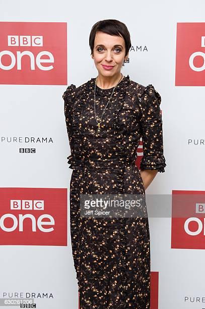Amanda Abbington attends a screening of the Sherlock 2016 Christmas Special at Ham Yard Hotel on December 19 2016 in London England