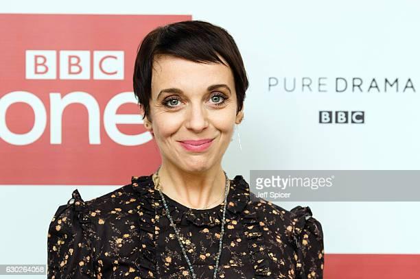 Amanda Abbington attends a screening of the Sherlock 2016 Christmas Special at Ham Yard Hotel on December 19, 2016 in London, England.