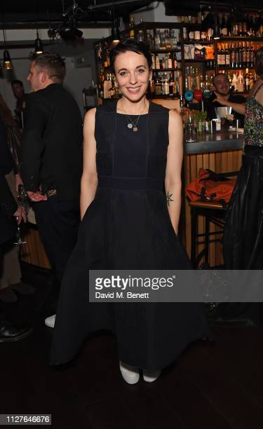 Amanda Abbington attends the press night after party for The Son at The Kiln Theatre on February 26 2019 in London England