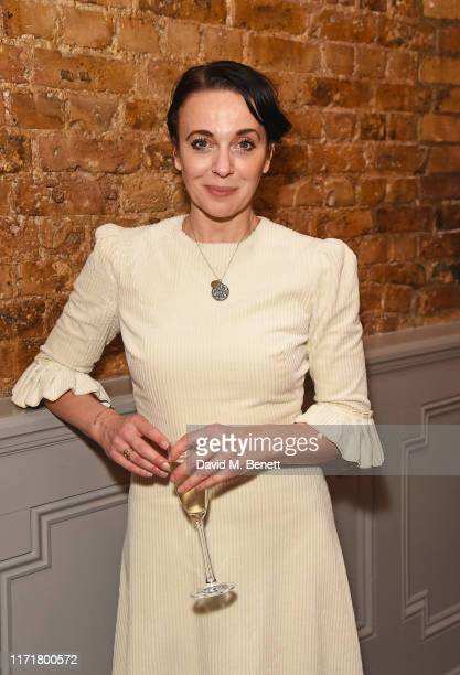 Amanda Abbington attends the press night after party for The Son at The Century Club on September 02 2019 in London England