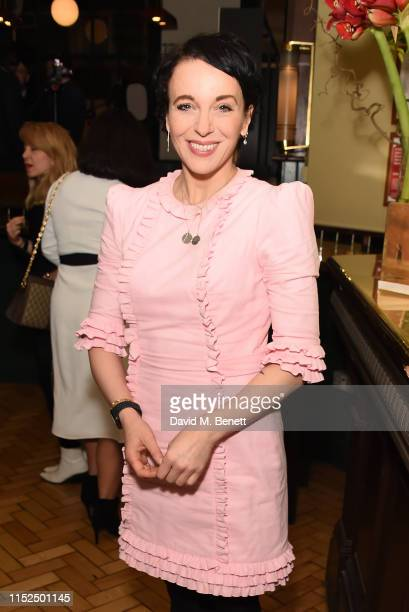 Amanda Abbington attends the press night after party for The Starry Messenger at Browns on May 29 2019 in London England