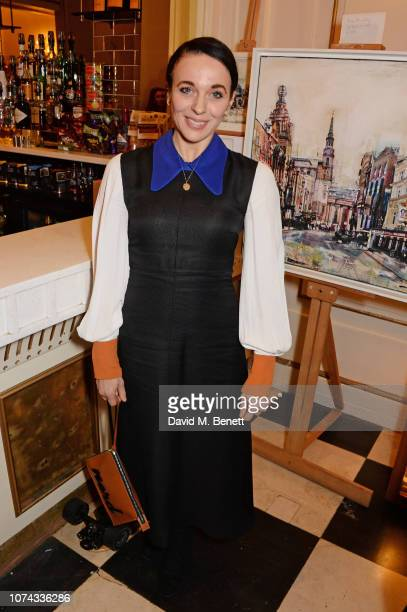 Amanda Abbington attends the press night performance of Caroline Or Change at the Playhouse Theatre on December 17 2018 in London England