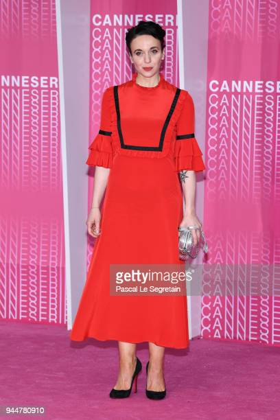 Amanda Abbington from the serie 'Safe' attends the Closing Ceremony and 'Safe' screening during the 1st Cannes International Series Festival at...