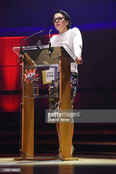 Amanda Abbington performs during Letters Live at WOW Women Of The World Festival at Southbank Centre on March 8 2020 in London England
