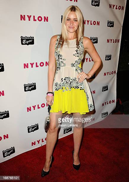 Amanda AJ Michalka attends Nylon Magazine's Young Hollywood issue event at The Roosevelt Hotel on May 14 2013 in Hollywood California