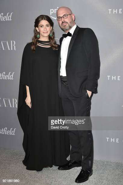 Amanda Alagem and Andres Sosa attend the 20th CDGA Arrivals on February 20 2018 in Beverly Hills California